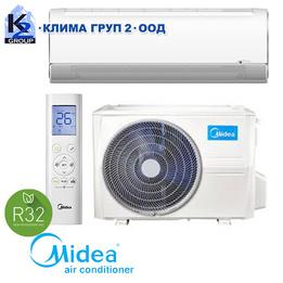 Midea MSFAAU-12HRFN8-QRD6GW BreezeleSS+ A+++ с включен стандартен монтаж