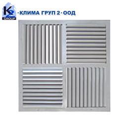 Таванни вентилационни решетки с променлива посока на струята SSD & ASD