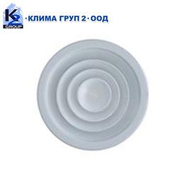 Таванни кръгли вентилационни решетки RCD