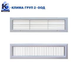 Стенни вентилационни решетки СВР