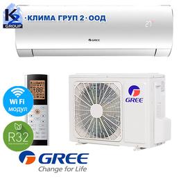 Gree GWH12ACC FAIRY A++ WiFi R32 с включен стандартен монтаж