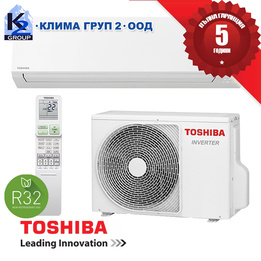 TOSHIBA SHORAI EDGE 2020 RAS-B10J2KVSG-E A+++ R32 Хиперинверторен