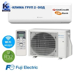 Fuji Electric RSG12KPCA R32 A++ Wi-Fi с включен стандартен монтаж
